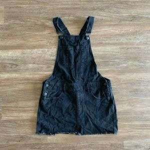 American Eagle • Denim Skirt Overalls